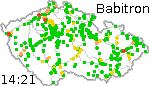 Poloha vlakov ČR